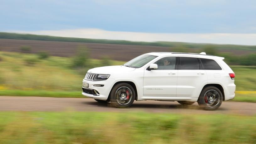 Jeep Grand Cherokee SRT: впадаем в крайности с самым мощным
