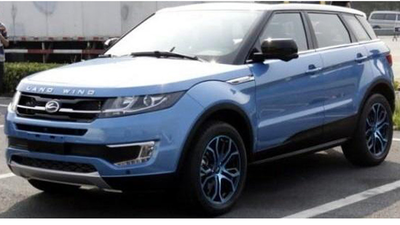 Land Rover продолжит борьбу с китайскими копиями