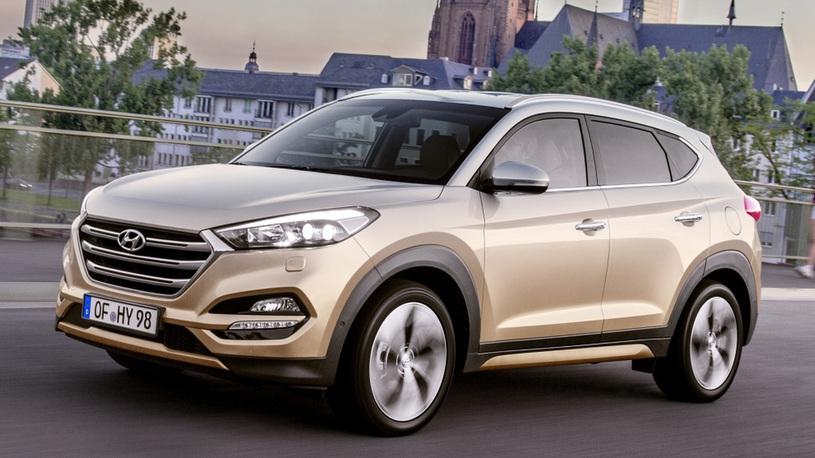 Кроссовер Hyundai Tucson получит