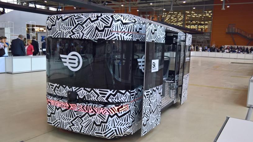 Российский беспилотный автобус
