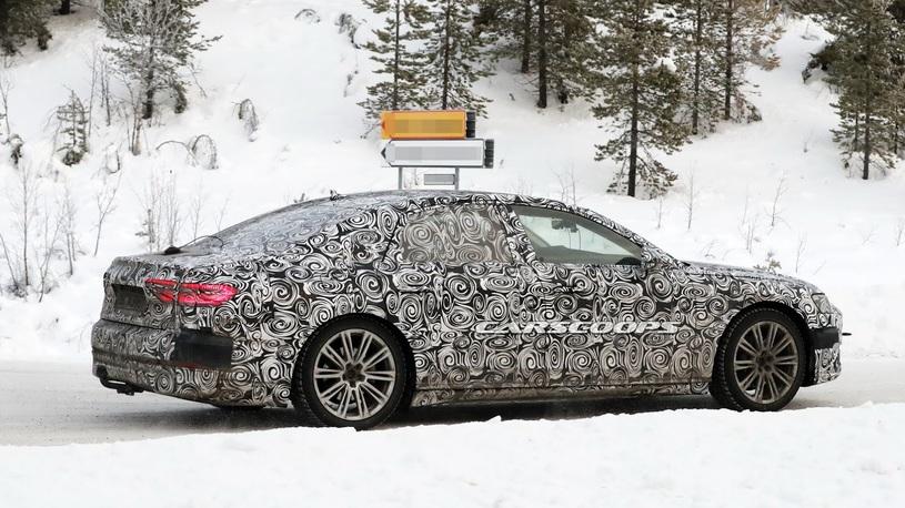 Названа дата дебюта новой Audi A8