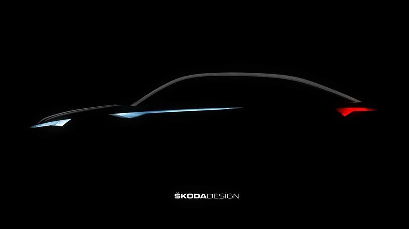 Skoda показала первый тизер кроссовера-купе