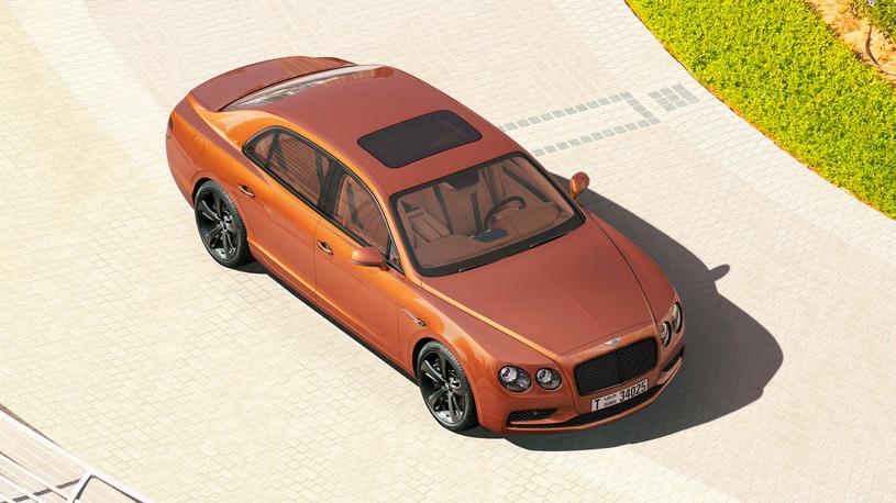 Компания Bentley сделала 58-гигапиксельную фотографию седана Flying Spur