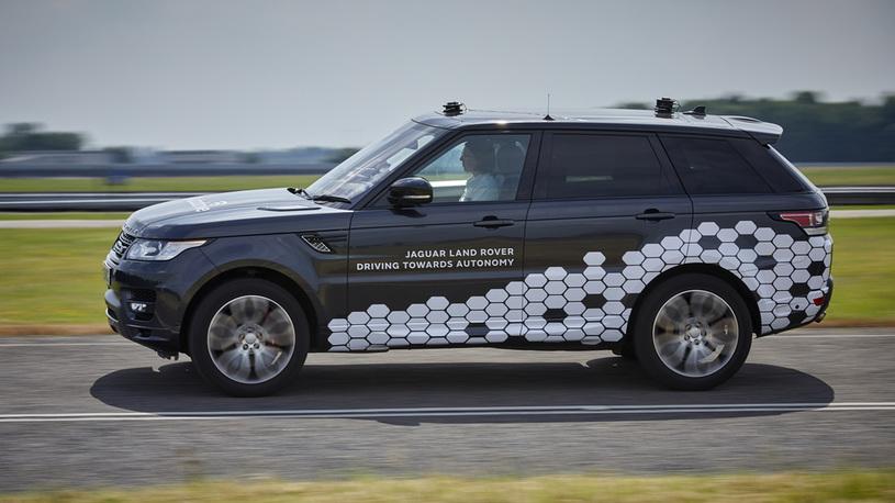 Land Rover выпустил внедорожник, который ездит без водителя