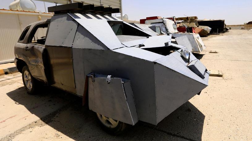 Опубликованы фото автомобилей террористов-смертников