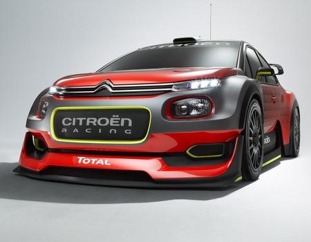 Новый гоночный Citroen