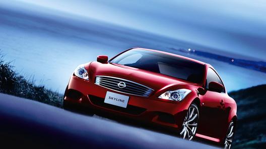 Nissan Skyline получил новогодний рестайлинг