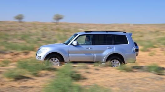 Тест Mitsubishi Pajero IV: не шуми, ветеран!