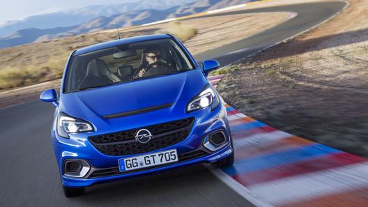 Компания Opel рассекретила новый Corsa OPC