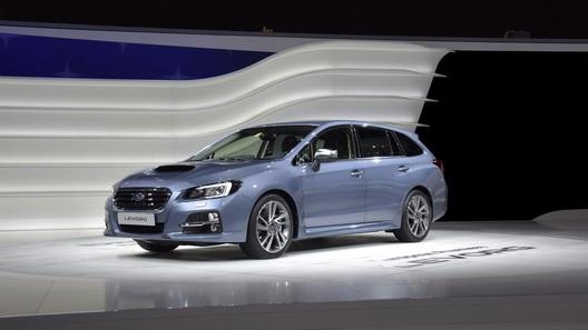 Subaru намекнула на европейскую версию универсала Levorg