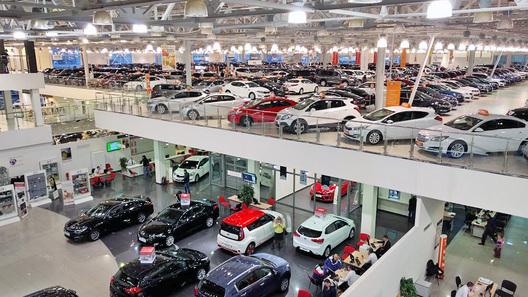 В России упали средние цены на подержанные автомобили
