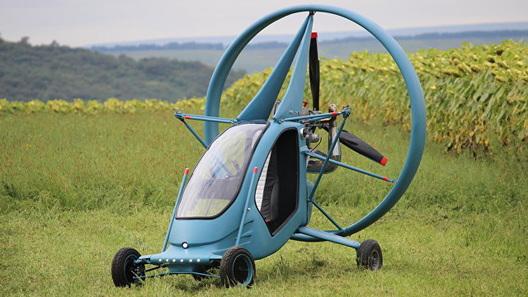 В России создали летающийэлектромобиль