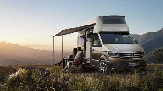 Новейший Volkswagen Crafter подготовили для больших путешествий