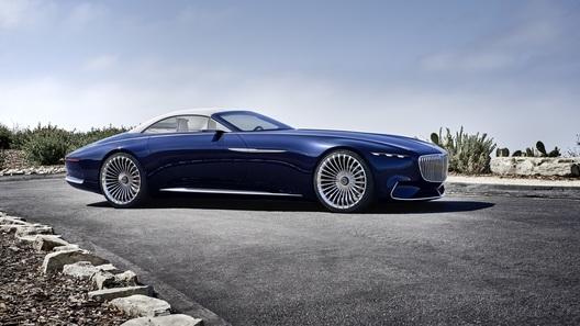 Mercedes-Benz превратил Maybach в роскошный электрокабриолет