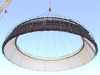 Ювелирная работа: на Нововоронежской АЭС приступили к возведению купола