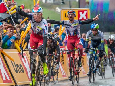 """Халлер из """"Катюши"""" финишировал 5-м на этапе Tour des Fjords"""