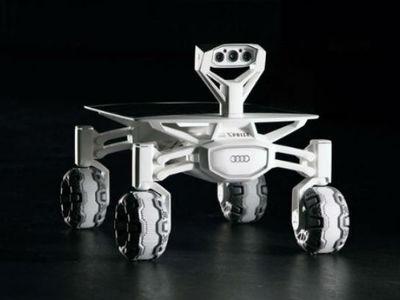 """К месту посадки """"Апполона 17"""" подъедет луноход Audi"""