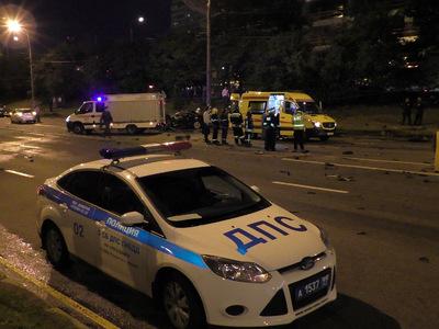 Крупное ДТП на Минской улице в Москве привело к гибели человека