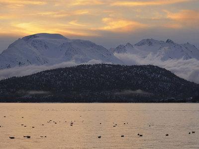 Недалеко от Аляски произошло землетрясение