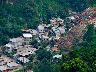 Количество погибших при оползне в Гватемале увеличилось до 208 человек