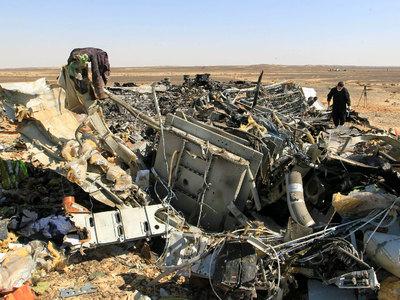 Эксперты: предварительный осмотр тел жертв крушения А321 не выявил следов взрыва