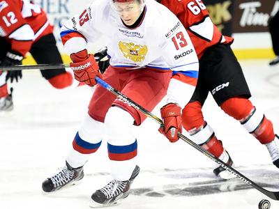 Российская хоккейная молодежка проиграла сверстникам из Канады