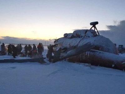 Крушение на Камчатке: Ми-8 восстановлению не подлежит