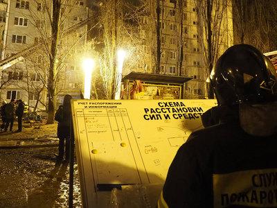 Число жертв взрыва с пожаром в Волгограде возросло до пяти