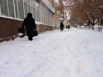 Тульская прокуратура заинтересовалась неочищенными от снега тротуарами