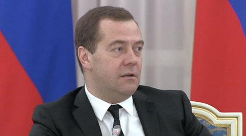 Дмитрий Медведев установил европейскую цену на газ для Украины