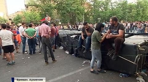 Полиция: на митинге