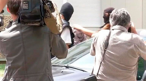 Французский террорист перед арестом отправил селфи с отрубленной головой