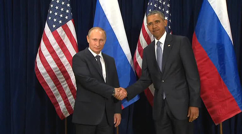 Встреча Владимира Путина и Барака Обамы завершилась