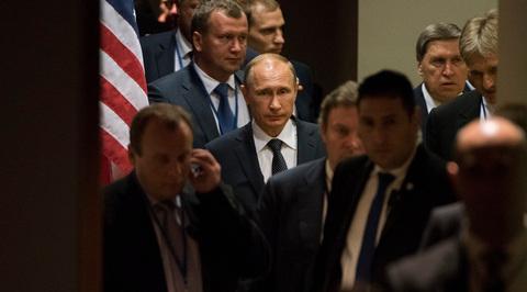 Владимир Путин: я не заметил, что президент Украины не присутствовал на моей речи