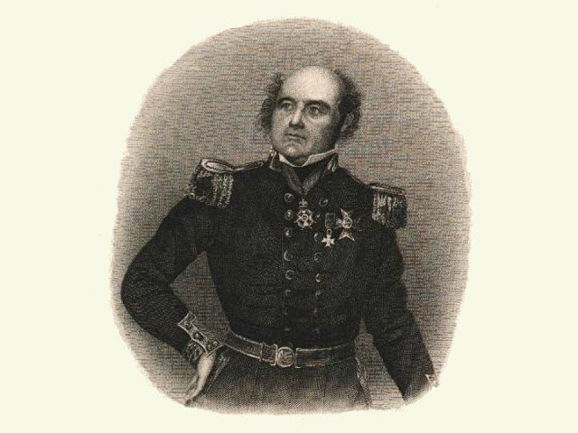 Сэр Джон Франклин – мореплаватель, исследователь Арктики (иллюстрация Dibner Library Portrait Collection/Wikimedia commons).