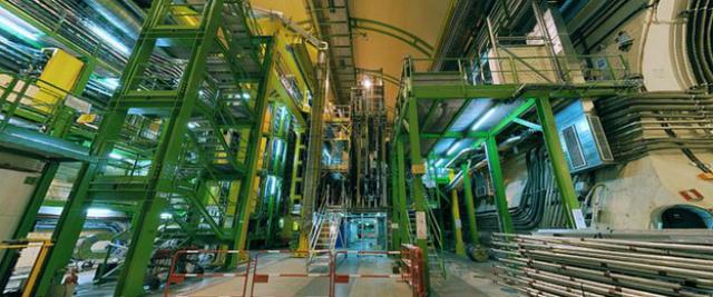 БАК будет включен снова в начале 2015 года (фото CERN).