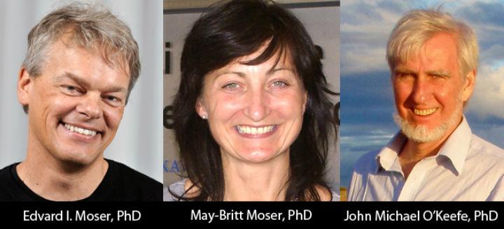 Лауреаты Нобеля по медицине и физиологии 2014 года (фото с сайта Columbia University Medical Center).