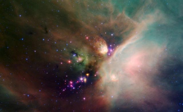 Наибольший интерес для руководителей новой миссии К2 представляют облака газа, из которых формируются звёзды (иллюстрация NASA).