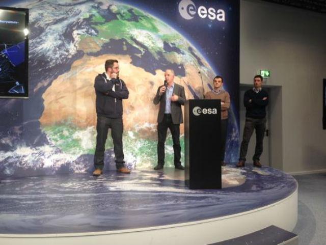 О подробностях миссии представители ЕКА рассказали на пресс-конференции прошедшей в немецком Дармштадте (фото ESA).