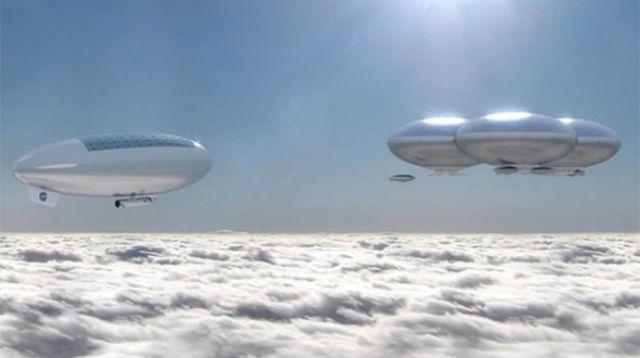 Колонисты Венеры будут жить в Облачном городе (иллюстрация NASA/HAVOC).