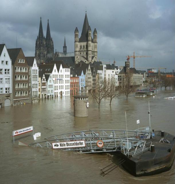 Наводнения – одно из разрушительных последствий глобального потепления