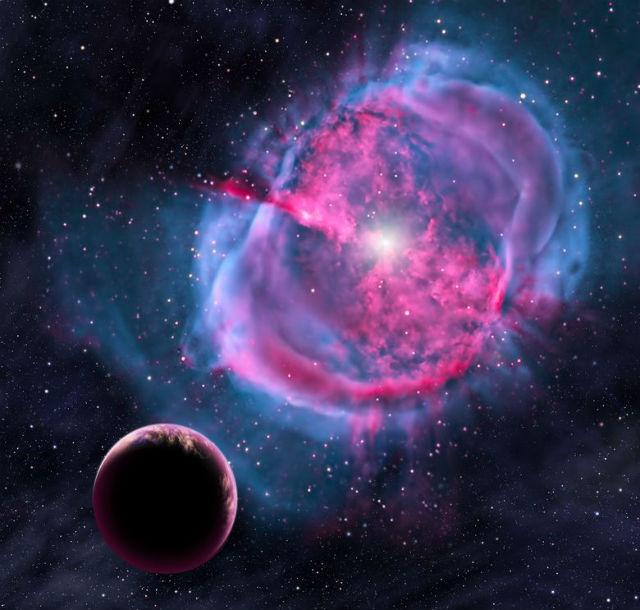 """""""Кеплером"""" было обнаружено около полутысячи экзопланет, потенциально пригодных для жизни (иллюстрация NASA)."""