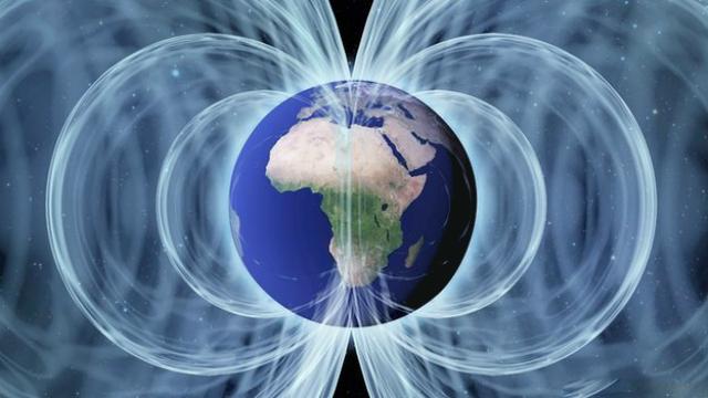 Когда ядро Земли полностью замёрзнет, магнитное поле, скорее всего, перестанет существовать (иллюстрация Science Photo Library).