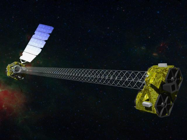 Космический телескоп NuSTAR (иллюстрация NASA).