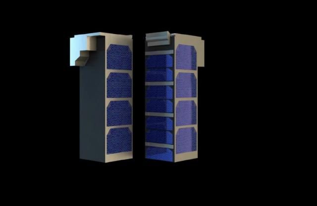 Так выглядят спутники CubeSat сами по себе (иллюстрация ESA / The Science Office Ltd).