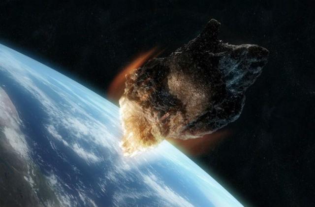 Астероид диаметром 40-45 метров способен стереть с лица Земли целый город (иллюстрация NASA).