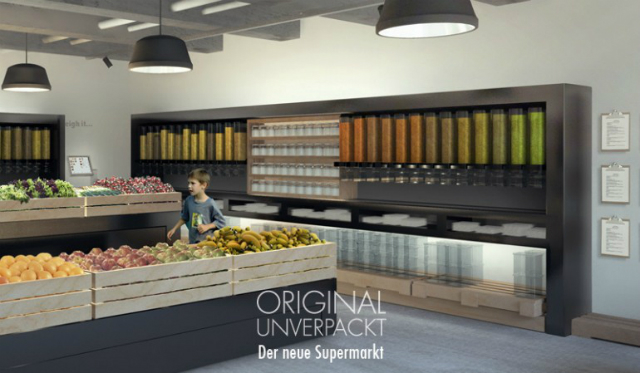 Original Unverpackt — первый безотходный супермаркет, который откроется этим летом в Берлине (фото Original Unverpackt).