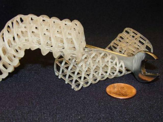 Пена и воск — составляющие робота, меняющего своё агрегатное состояние