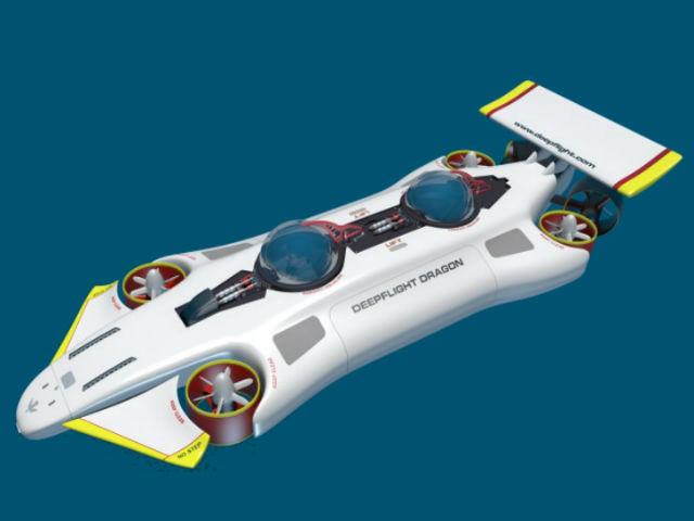 Новая модель DeepFlight Dragon (иллюстрация DeepFlight).