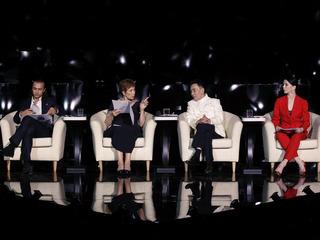В жюри третьей программы: Брижит Лефевр; Наталья Осипова; Сяо Сухуа; Фарух Рузиматов. Фото Вадима Шульца